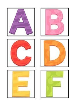 Interactive Alphabet Cards