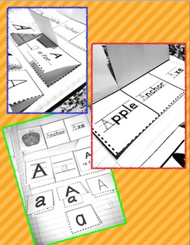 Interactive Alphabet Journal: Letters, Vowels, Digraphs