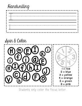 Interactive Alphabet Journal- VOWELS