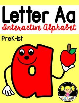 Interactive Alphabet {Letter Aa}