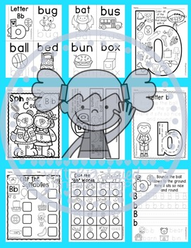 Interactive Alphabet {Letter Bb}