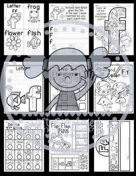 Interactive Alphabet {Letter Ff}