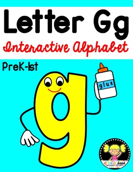 Interactive Alphabet {Letter Gg}