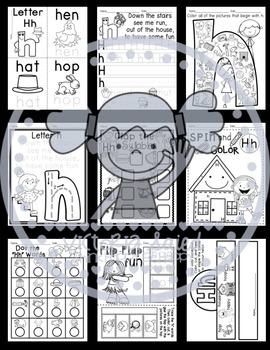 Interactive Alphabet {Letter Hh}