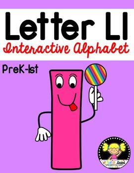 Interactive Alphabet {Letter Ll}