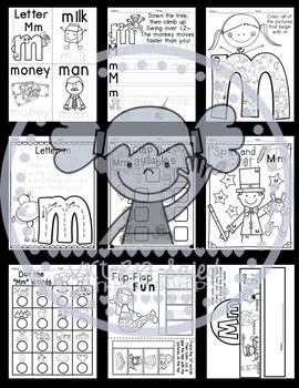 Interactive Alphabet {Letter Mm}