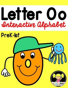 Interactive Alphabet {Letter Oo}