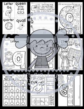 Interactive Alphabet {Letter Qq}