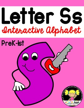 Interactive Alphabet {Letter Ss}