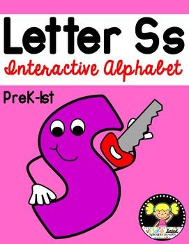 Interactive Alphabet {Letter Ss}