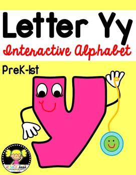 Interactive Alphabet {Letter Yy}