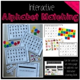 Interactive Alphabet Matching: (Extra pages for the Intera