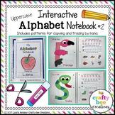 Interactive Alphabet Notebook | Uppercase Alphabet Letter Craft Activities