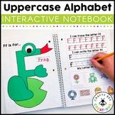 Interactive Alphabet Notebook (Uppercase Alphabet Letters