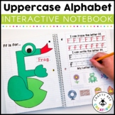 Interactive Alphabet Notebook (Uppercase Alphabet Letters