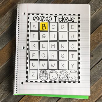 Interactive Uppercase Alphabet Notebook Bundle