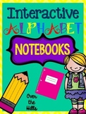 Interactive Alphabet Notebooks {Letter ID, Phonics, Handwriting}