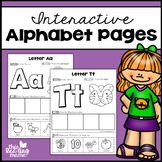 Interactive Alphabet Pages