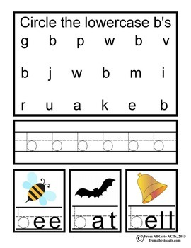 Interactive Alphabet Pages - Lowercase Letters