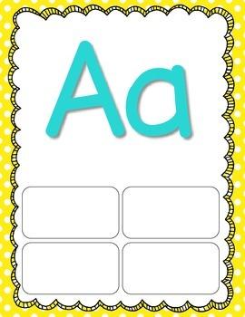Interactive Alphabet Posters
