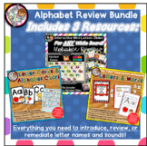 Interactive Alphabet Review for Kindergarten  - RESOURCE BUNDLE