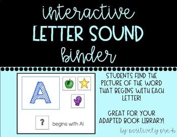 Interactive Letter Sound Binder
