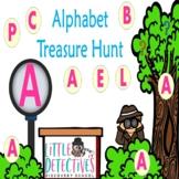 Alphabet and Phonemic Awareness Treasure Hunt (Interactive)