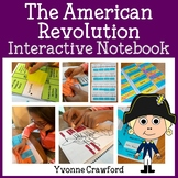 American Revolution Interactive Notebook with Scaffolded Notes