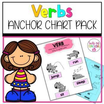 Interactive Anchor Chart + Interactive Notebook VERBS