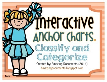 Interactive Anchor Charts - Classify and Categorize