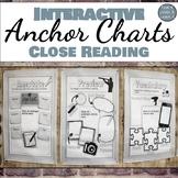 Interactive Anchor Charts: Close Reading Skills for Grades 6-10
