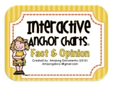 Interactive Anchor Charts - Fact and Opinion