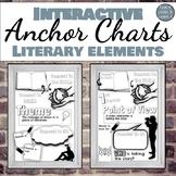 Interactive Anchor Charts: Literary Elements