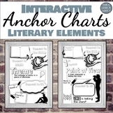 Interactive Anchor Charts: Literary Elements