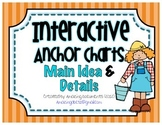 Interactive Anchor Charts - Main Idea & Details