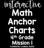 Interactive Anchor Charts-Zearn, Engage NY, Eureka Math-Grade 4 Mission 1