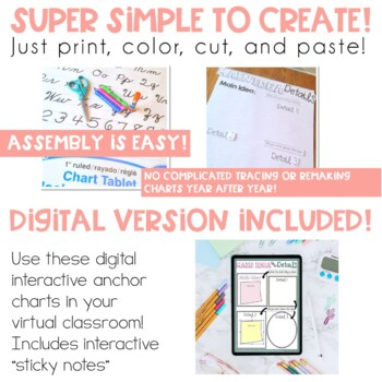 Interactive Anchor Charts Reading 1 Edition