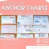 Interactive Anchor Charts Print and Digital: Reading 1 Edition