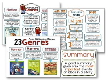 Interactive Anchor Charts - Reading Mega Bundle Pack - 1