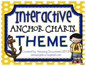 Interactive Anchor Charts - Theme