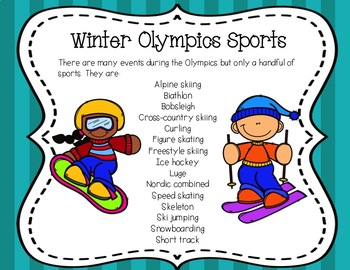 Interactive And Differentiated Winter Olympics