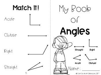 Interactive Angles Book