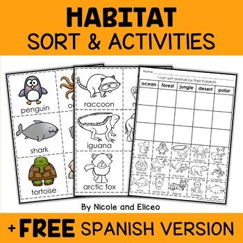 Interactive Activities - Animal Habitats