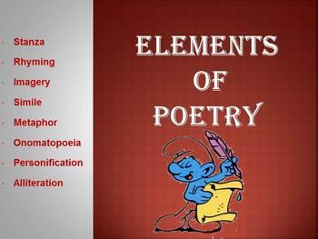 Interactive & Animated Poetry Elements Slideshow
