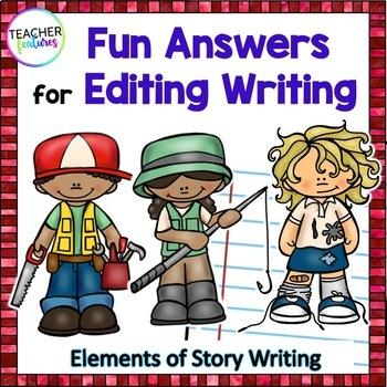 Editing Writing (3rd Grade, 4th Grade, 5th Grade)