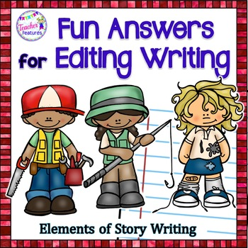 Editing Writing (3rd Grade, 4th Grade, 5th Grade)