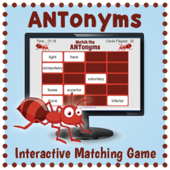 Interactive Antonym Matching Game
