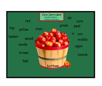 Interactive Apple Attributes and Labeling Lesson
