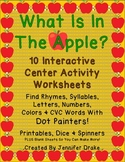 Interactive Apple Centers Using Dot Painters & More!  CC Aligned!