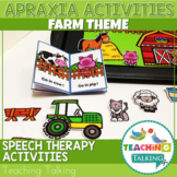 Apraxia of Speech Activities Farm Pack